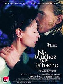 poster Ne Touchez Pas La Hache (2007)