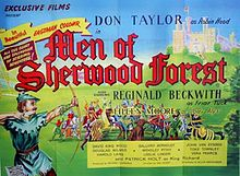 poster The Men Of Sherwood Forest (1954)