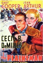 poster The Plainsman (1936)