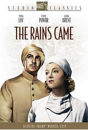 poster The Rains Came (1939)