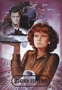 poster Vokzal dlya dvoikh aka A Railway Station For Two (1983)