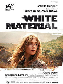 poster White Material (2009)