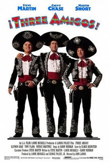 poster ¡Three Amigos! (1986)