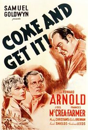 poster Come And Get It (1936)