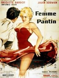 poster Femeia - La femme et le pantin - The Female (1959)