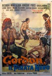 poster Gordon il pirata nero (1961)