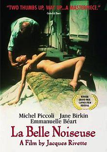poster La belle noiseuse (1991)