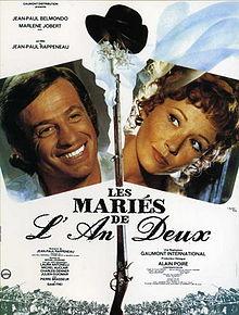 poster Les maries de l'an II (1971)