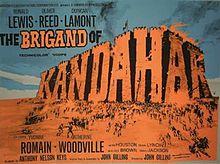 poster The Brigand of Kandahar (1965)