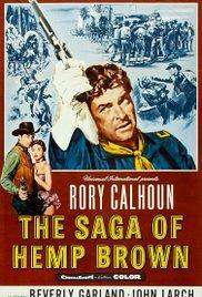 poster The Saga Of Hemp Brown (1958)