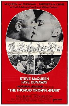 poster The Thomas Crown Affair (1968)