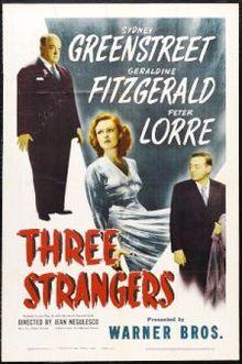 poster Three Strangers (1946)