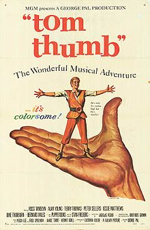 poster Tom Thumb (1958)