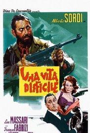 poster Una Vita Difficile (1962)
