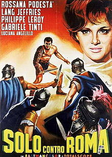poster Alone Against Rome (1962)