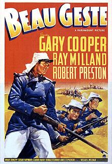 poster Beau Geste (1939)
