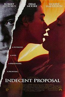poster Indecent Proposal (1993)