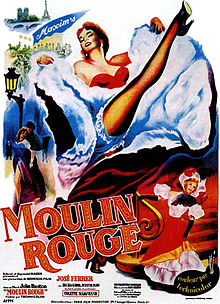 poster Moulin Rouge (1952)