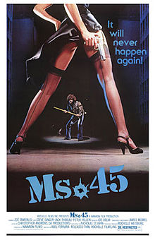 poster Ms. 45 (1981)