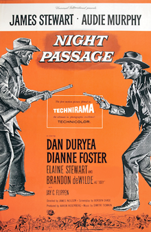 poster Night Passage (1957)