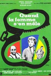 poster Quand La Femme S'En Mele (1957)