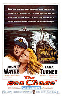 poster The Sea Chase (1955)