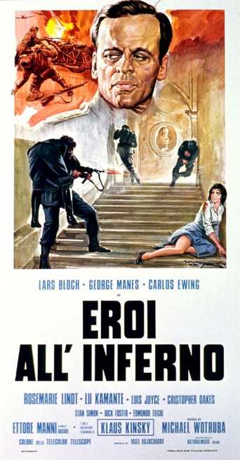 poster Eroi all'inferno - Heroes in Hell (1974)