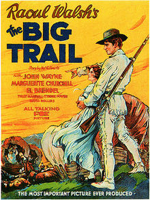 poster The Big Trail (1930)