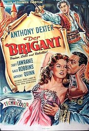 poster The Brigand (1952)