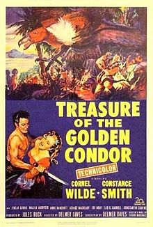 poster Treasure Of The Golden Condor (1953)