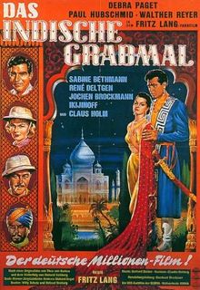 poster Das indische Grabmal - The Indian Tomb (1959)