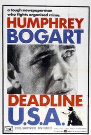 poster Deadline - U.S.A. (1952)
