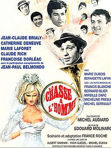 poster La Chasse A L'homme (1964)