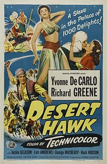poster The Desert Hawk (1950)