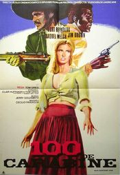 poster 100 Rifles (1969)