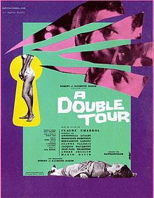 poster A Double Tour - Leda (1959)