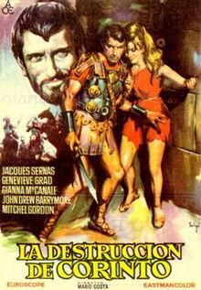 poster Il Conquistatore Di Corinto (1961)