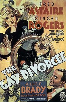 poster The Gay Divorcee (1934)