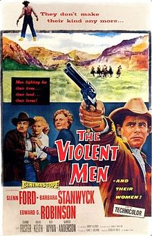 poster The Violent Men (1955)