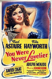 poster You Were Never Lovelier (1942)