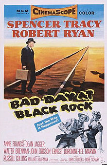 poster Bad Day at Black Rock (1955)