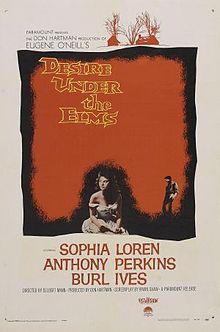 poster Desire Under the Elms (1958)