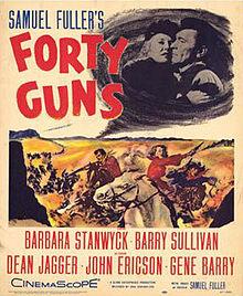 poster Forty Guns (1957)