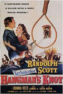 poster Hangman's Knot (1952)