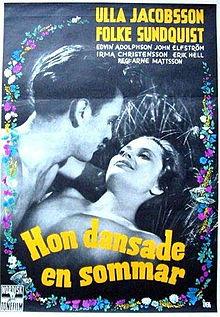 poster Hon dansade en sommar (1951)
