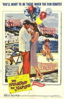 poster It Started in Naples (1960)
