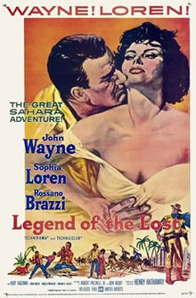 poster Legend of the Lost (1957)