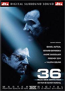 poster 36 Quai Des Orfevres (2004)