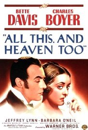 poster All This And Heaven Too (1940)