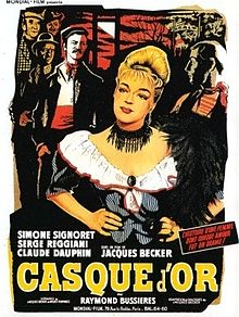 poster Casque d'Or (1952)